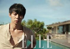 """Yoochun for ELLE Korea July 2012 issue. """"Altough i'm not a fans of him, but i think i like seeing him in this photoshoot..."""""""