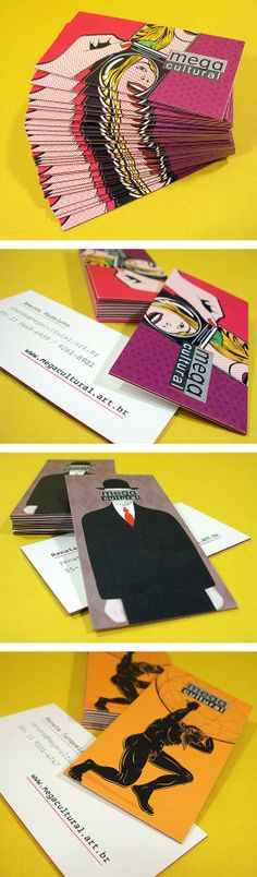 Mega Cultural Business Cards by Dona Baronesa