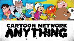 ¡Es una app! ¡Es un show! Es CARTOON NETWORK ANYTHING ¡en la tele!