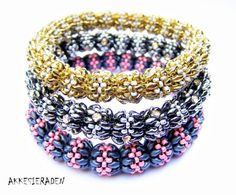 English pattern for the Bubble Bangle
