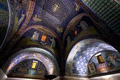 Mausoleum of Galla Placidia. Ravenna, Italy.