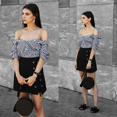 d5cf03bfdbfb CLAUDIA Holynights - In The Style Gingham Shirt