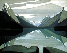 Quality print by Group Of Seven artist Lawren Harris - Maligne Lake Jasper Park; Available framed, print, poster, giclee canvas. Made In Canada. Jasper Park, Tom Thomson, Emily Carr, Group Of Seven Artists, Group Of Seven Paintings, Abstract Landscape, Landscape Paintings, Abstract Art, Abstract Paintings