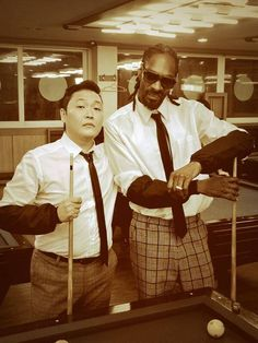 Snoop Lion and PSY