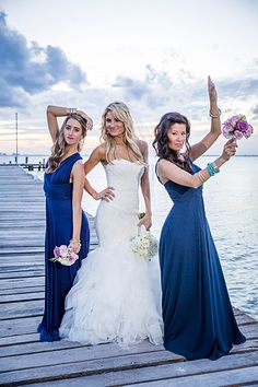 When you choose SunHorse as your partner in planning a dream destination wedding on Isla Mujeres, we'll do all the planning so you can focus on having fun. Lace Chiffon, Dress Lace, Cozumel, Cancun, Bridal Dresses, Bridesmaid Dresses, Island Beach, Riviera Maya, Bridal Looks