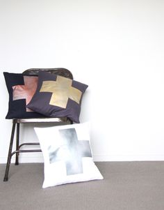 Metallic Cushions  www.cloudninecreative.co.nz