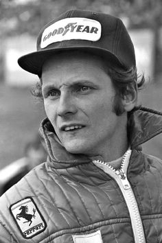 Niki Lauda (A) Won two world championship for Ferrari in 1975 and 1977.