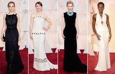 'Black & White' apuesta segura para Sienna Miller, Julianne Moore, Cate Blanchett y Lupita Nyong'o.