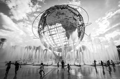 L'Unisphère - New York Etats-Unis