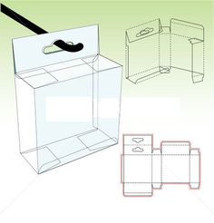 Straight tuck carton box template with shelf hanger Origami Templates, Origami Box, Cardboard Gift Boxes, Cardboard Packaging, Diy Card Box, Diy Cards, Printable Box, Creative Box, Box Shelves