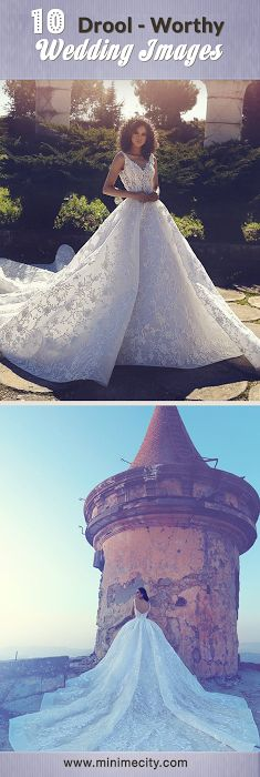 10 DROOL-WORTHY WEDDING IMAGES- Weddings are dime a dozen and to better make you look forward of your very own, we have rounded up some of the most lovely wedding images for you to drool on!