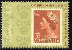 Australia 1992 Queens Birthday Fine Mint SG 1352 Scott 1261 Other Australian Stamps HERE