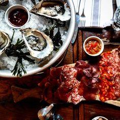 Starting #brunch in style @holborndiningroom  #toplondonrestaurants #eeeeeats #eatfamous #instafood #charcuterie #oysters #instafood #foodiegram
