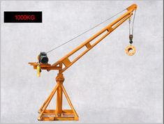 We mainly produce lifting machinery equipment. Log Trailer, Crane Construction, Lifting Devices, Cranes For Sale, Assembly Line, Safe Storage, Pulley, Art Gallery, Homemade
