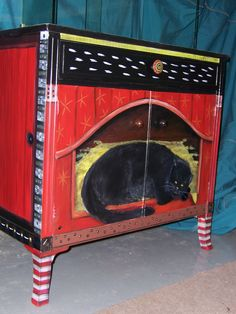Cat chest by FUNKY FURNITURE