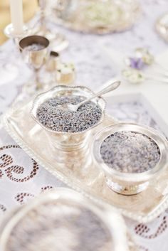 lavender-infused wedding details