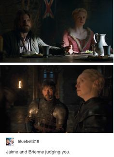 Brienne Got, Game Of Thrones Brienne, Jaime And Brienne, Game Of Thrones Books, Brienne Of Tarth, Game Of Thrones Houses, Jaime Lannister, Lyanna Mormont, Couple