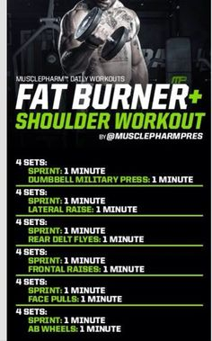 Fat burner and shoulders Bodybuilding Training, Bodybuilding Workouts, Crossfit, Build Muscle Fast, Gain Muscle, Cardio Training, Weight Training, Lower Ab Workouts, Gym Workouts