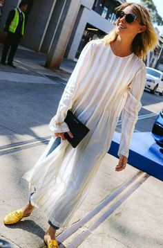 Natalie Cantell in Sydney during Australian fashion week Fashion #Women_Style