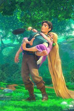 The Definitive Ranking Of Disney Princes Flynn rider Rapunzel Disney Pixar, Walt Disney, Princesa Rapunzel Disney, Rapunzel Flynn, Rapunzel And Eugene, Disney And Dreamworks, Disney Animation, Disney Magic, Disney Art