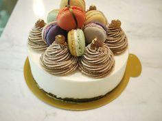 몽블랑 마카롱 케이크