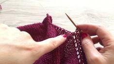 Come riprendere le maglie nel giro manica - How to pick up stitches in t...