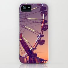 Midway Sunset iPhone & iPod Case