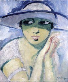 Kees van Dongen, Woman's Head