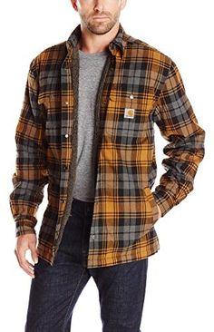 Carhartt Men's Hubbard Sherpa Lined Shirt Jacket