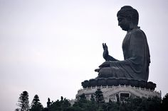 Giant Buddha at Po Lin Monastery by Paolo Paraiso, via Flickr Po Lin Monastery, Giant Buddha, Statue Of Liberty, Places, Travel, Statue Of Liberty Facts, Viajes, Statue Of Libery, Destinations