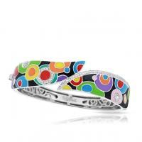 Belle Etoile Groovy Multi Bangle #MultiColoredBangle #BelleEToileBracelet