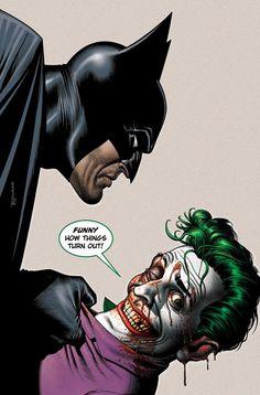 Batman and Joker by Brian Bolland. Bolland can seemingly do no wrong.