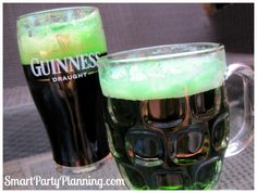 How to Make Green Beer > this is excellent Paddy's Day is imminent!!!!! Ireland St Patricks Day GREEN BEER .. bet the leprichauns will love it!