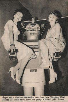 Gygan, the Mechanical Man.