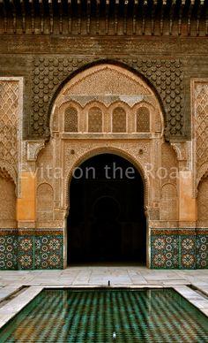 Medersa Marrakesh: ancient Koranic School amazing beauty