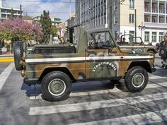Hellenic Army MB G-Class Hellenic Army, Mercedes G Wagen, Mercedes Benz G Class, Classic Mercedes, Steyr, Maybach, Four Wheel Drive, G Wagon, Monster Trucks