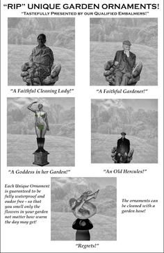 "MACCLESFIELD UNVEILED!: ""RIP"" Unique Garden Ornaments can save funeral cos..."