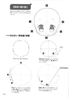 Manga Drawing Tutorials, Drawing Techniques, Drawing Tips, Anime Drawings Sketches, Kawaii Drawings, Easy Drawings, Chibi Tutorial, Manga Tutorial, Chibi Sketch