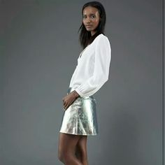 . Fatima Siad, Girls Night Out, Spring 2014, Marc Jacobs, Sequin Skirt, Skirts, Style, Fashion, Girls Night In