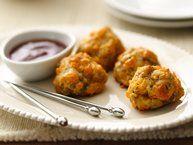Spicy Chorizo-Cheese Balls recipe from Betty Crocker