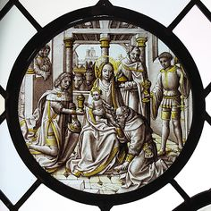 Roundel with the Adoration of the Magi. After Hans Memling  (Netherlandish, Seligenstadt, active by 1465–died 1494 Bruges).  Date:     ca. 1500.