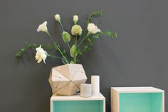 Learn how to make a cool paper vase!