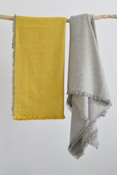 Woven wool throw: Sa