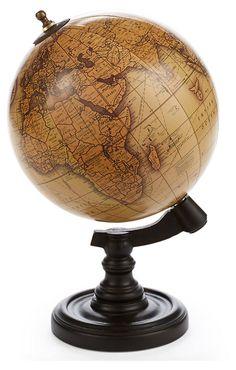 """One Kings Lane - Explorer's Desk - 8"""" Globe"""