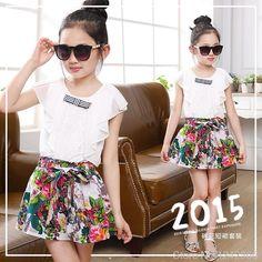 two pieces suit linen skirt