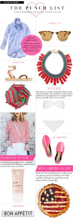 The Punch List  Luella  June  My Style Pinboard