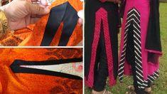 Chudithar Neck Designs, Dress Neck Designs, Salwar Suit Neck Designs, Kurta Designs Women, Dress Sewing Patterns, Pattern Sewing, Stitching Classes, Baby Dress Tutorials, Kurti Designs Party Wear
