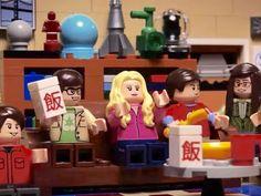 Bazinga! Leonard, Sheldon, Penny, Howard, Raj, Amy and Bernadette get the Lego treatment in this fan-made intro to the geeky TV sitcom.