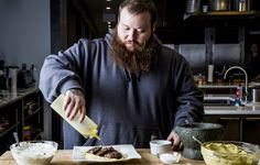 Chef-turned-rapper Action Bronson stopped by the Bon Appétit test kitchen to cook… what else? Lamb kefte and homemade hummus.