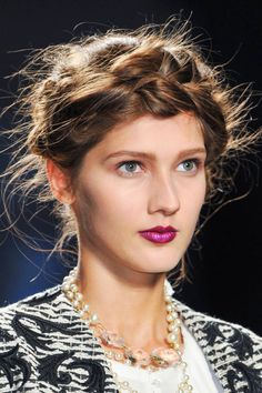 Braids at Giles Spring 2014 - Best Hair Trends for Spring 2014 - Harper's BAZAAR